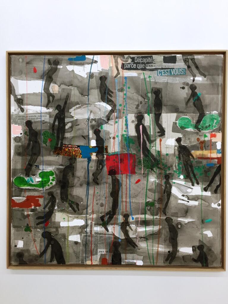 """""""Sukuru"""" do artista plástico guineense Nú Barreto na exposição """"Lumières d'Afriques"""""""