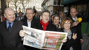 Jean-luc Melenchon gained more than four points since start of the year