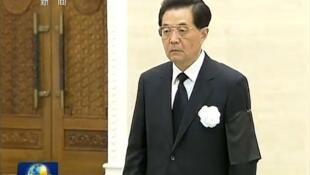 港媒说胡锦涛老了 央视新闻截屏网络图片
