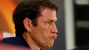 Rudi Garcia, l'entraîneur de l'Olympique de Marseille.