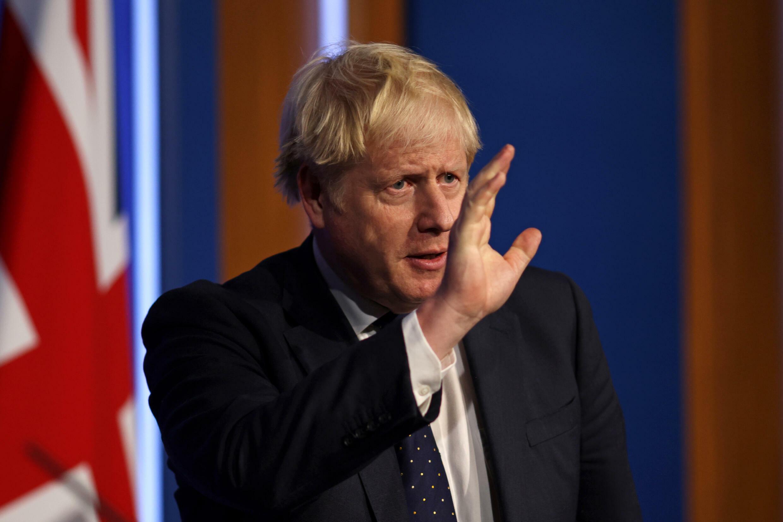 El primer ministro británico, Boris Johnson, en Londres, el 14 de septiembre de 2021