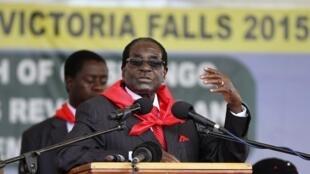 Robert Mugabe a fait plusieurs annoncent politiques lors de son discours donné à l'occasion de sa fête d'anniversaire, le 28 février.