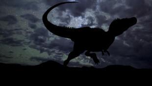 Le Kayentapus ambrokholohali appartient au groupe des méga-théropodes, comme le Tyrannosaure rex (illustration).