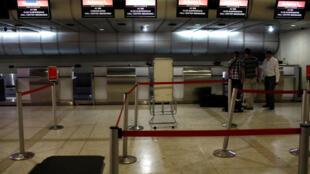 委內瑞拉總罷工加拉加斯機場停擺2017年7月27日