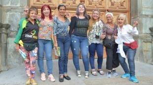 Les «Guerreras del centro» du quartier de Vera Cruz à Medellin.