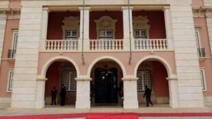 Palácio presidencial, em Luanda