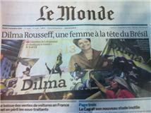 Primeira página do jornal vespertino Le Monde datado de terça-feira, 3 de novembro.