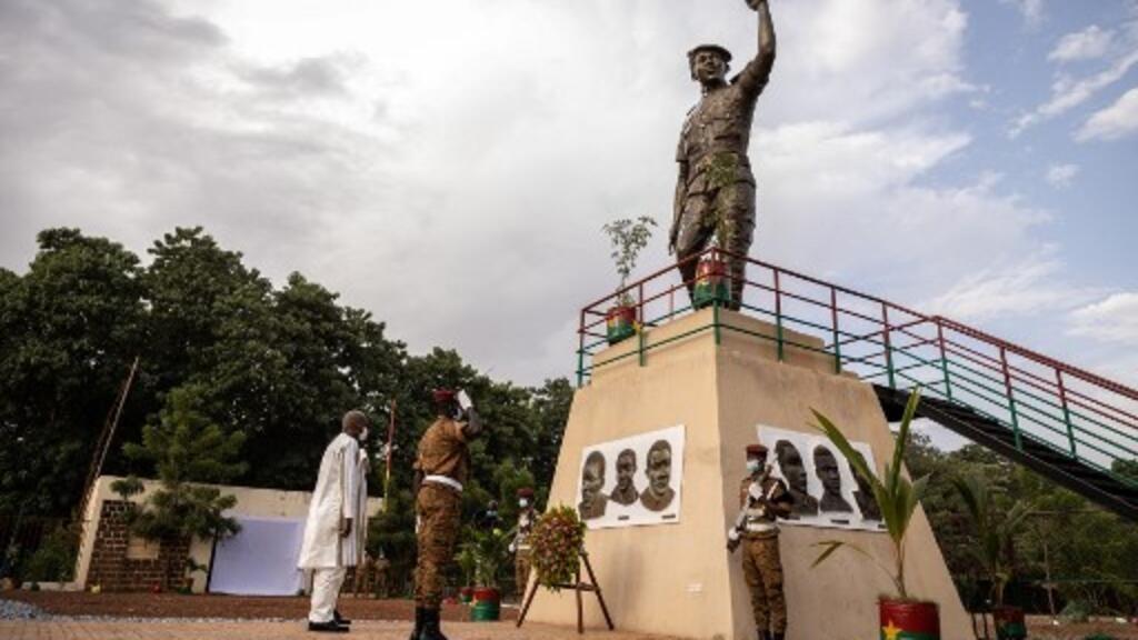 Burkina Faso: l'hommage présidentiel à Thomas Sankara, assassiné il y a 34 ans