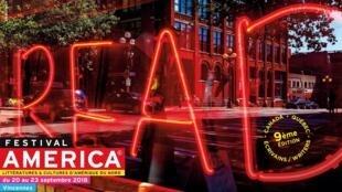 Cartel del Festival América.