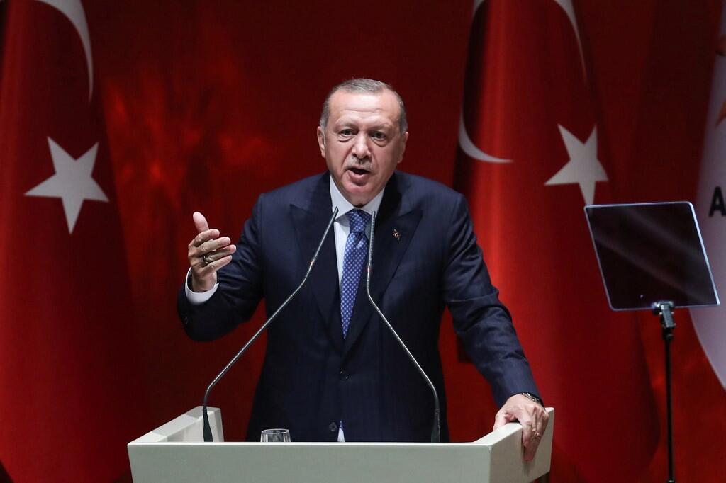 ប្រមុខរដ្ឋតួកគី លោក Erdogan