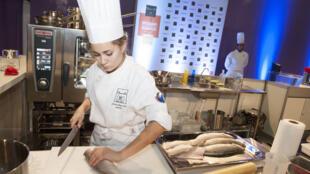 A chef alagoana Giovanna Grossi representa o Brasil no Bocuse d'Or.