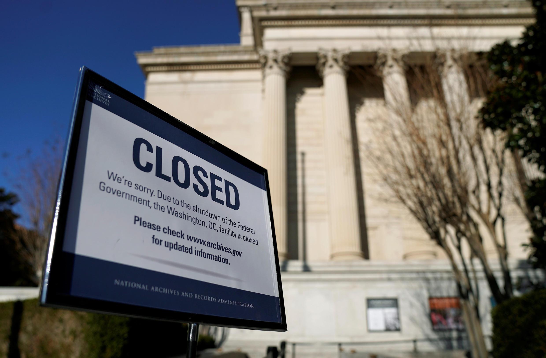 """Do """"shutdown"""", một số cơ quan của chính quyền liên bang có thể sẽ phải đóng cửa."""
