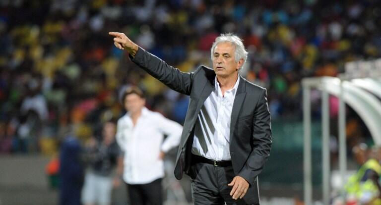 Vahid Halilhodzic lors de la CAN 2013 en Afrique du Sud.