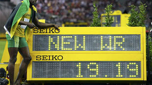 Nouveau record du monde sur 200m pour Usain Bolt.