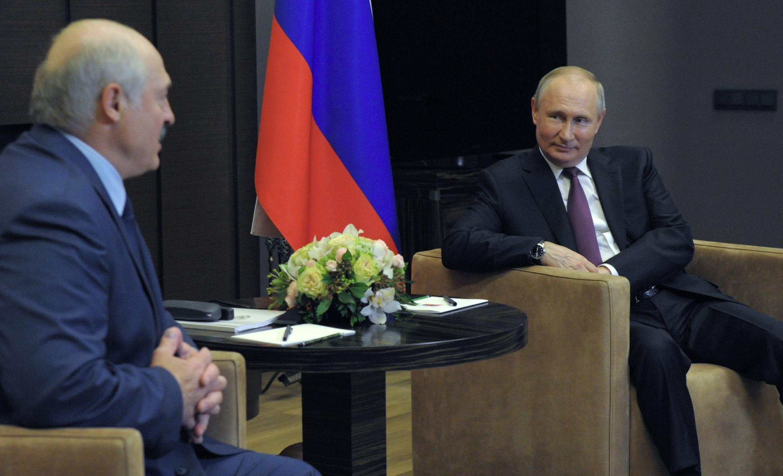 loukachenko poutine russie biélorussie