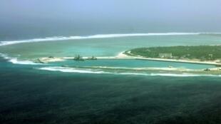 Một phần đảo Phú Lâm, quần đảo Hoàng Sa, Biển Đông, mà Trung Quốc đã chiếm của Việt Nam hồi tháng 01/1974. Ảnh chụp ngày 27/07/2012