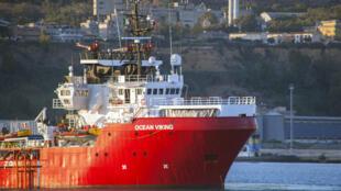 O navio Ocean Viking, da organização não governamental SOS Mediterrâneo, está iniciando uma nova campanha de resgate de migrantes ameaçados de naufrágio no mar Mediterrâneo.