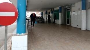 L'entrée d'un hôpital de Nador, au Maroc, 4 février 2018.