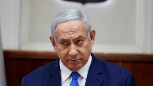Benyamin Netanyahu à Jérusalem le 14 juillet 2019.