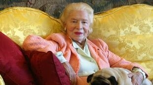 Marie-Louis Carven, seen in this 2002 file picture, passed away at the age of 105.