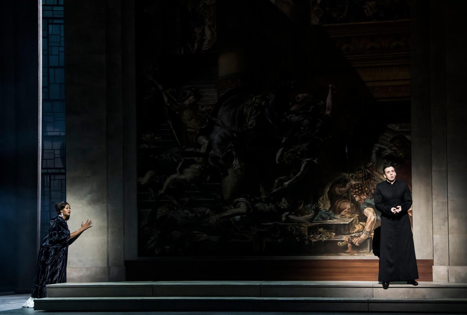 Притти Йенде и Бенжамен Бернхайм: Манон и де Грие, на сцене Парижской оперы, февраль 2020 г,