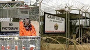 La prison de Guantanamo.