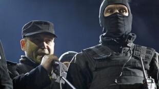 Дмитрий Ярош на Майдане в Киеве21/02/2014 (архив)