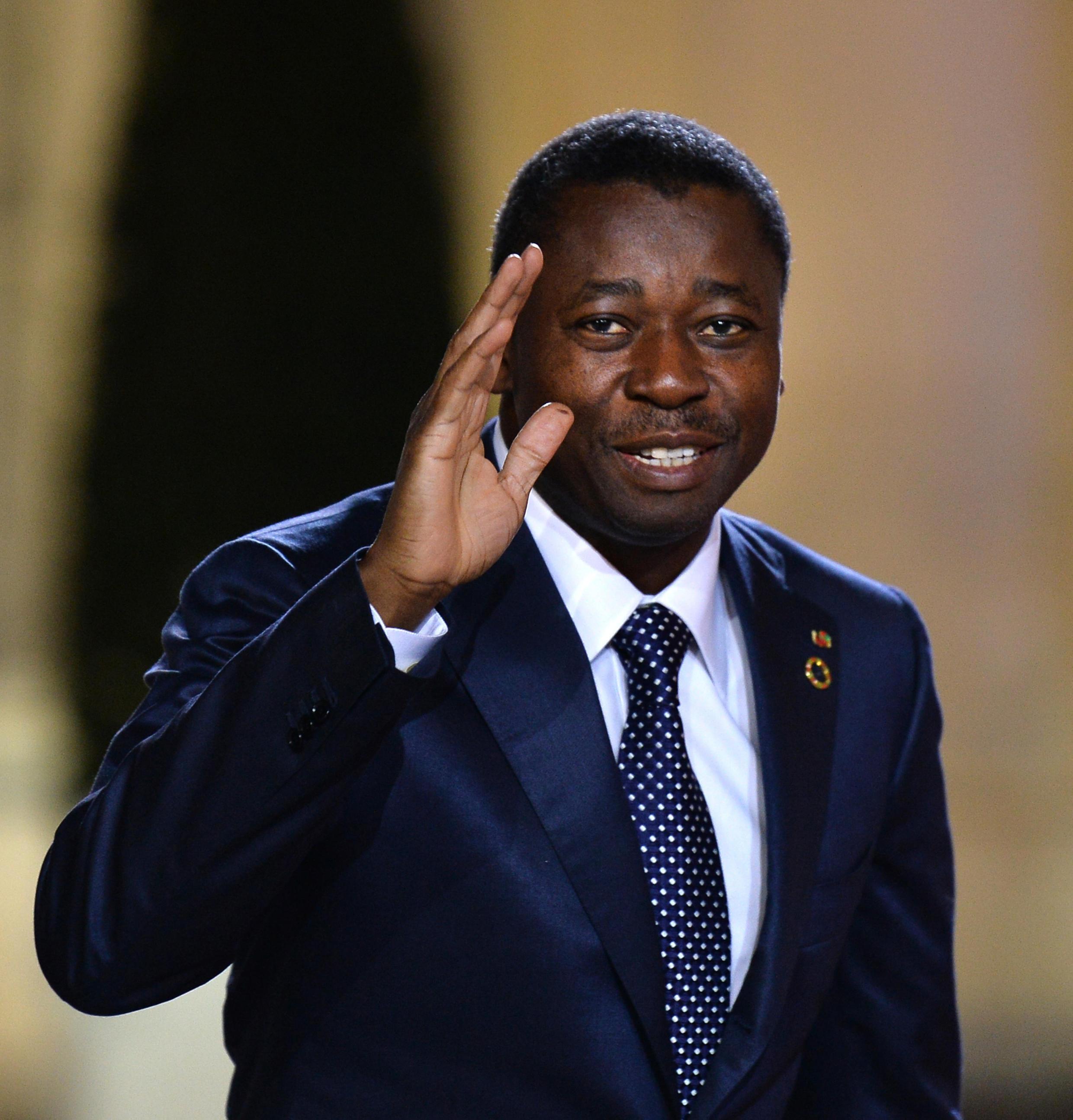 Faure Gnassingbe, le présiodent du Togo