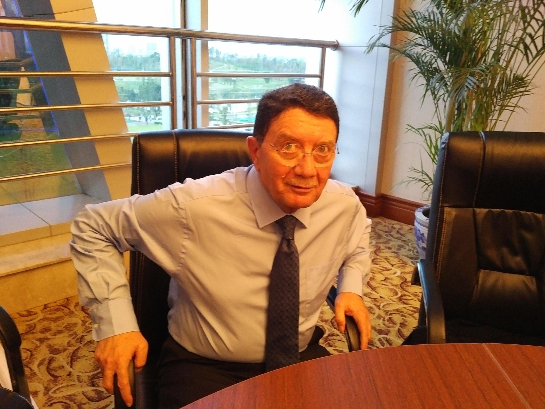 Taleb Rifai, secretario genral de la OMT quien termina su mandato el próximo mes de diciembre. Chengdu, China, 12 de septiembre de 2017.