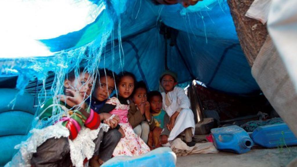 No Iêmen, mais de 3 milhões de crianças sofrem de desnutrição aguda