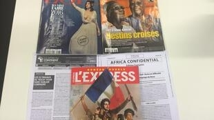 Capas dos semanários e magazines franceses de 26/12/15