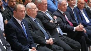 israel-gouvernement-benett-ganz-netanyahu