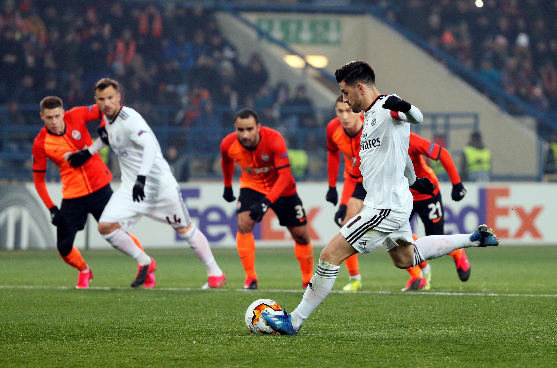 Benfica - Desporto - Futebol - Liga Europa - Football
