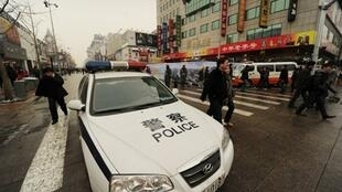 """北京出动大批警员防范""""茉莉花"""""""