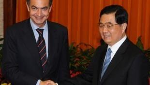 Thủ tướng Tây Ban Nha và chủ tịch TQ