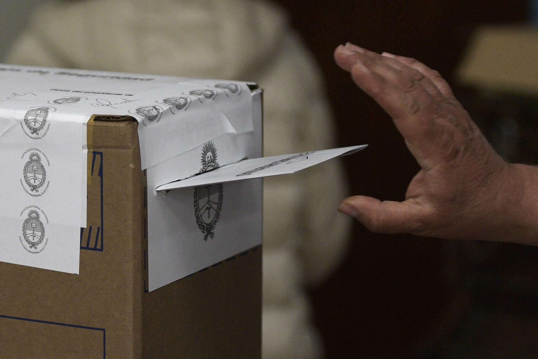 Un bulletin de vote lors des élections présidentielles d'octobre 2019