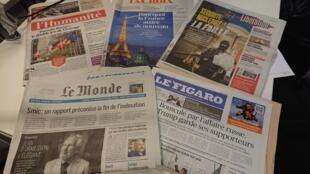 Diários franceses 05.12.2017