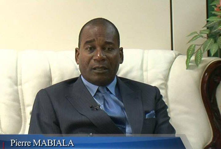 Le ministre congolais de la Justice, Pierrre Mabiala (ici en 2012),.