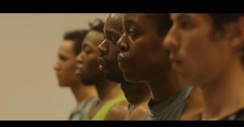 Les danseurs hip-hop qui interprétent la chorégraphie de Radhouane el-Meddeb « Héros, prélude – au Panthéon », le 14 et 15 avril à 19h.