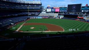 Le mythique Yankee Stadium est transformé en centre de vaccination contre le Covid-19 (image d'illustration).