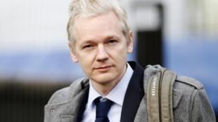 Julian Assange, mwasisi wa Wikileaks.