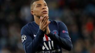 Kylian Mbappé dan wasan Faransa dake taka leda a PSG