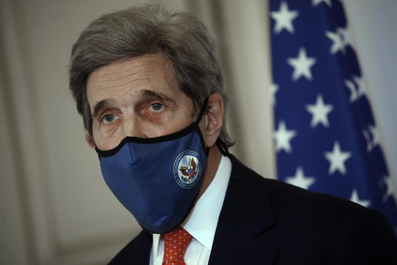 美國氣候談判特使克里