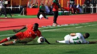 Lors du match Soudan-Algérie comptant pour la 3e place du CHAN 2011.