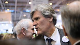 Le ministre de l'Agriculture Stéphane Le Foll, lors du Salon de l'agriculture, le 24 février 2015.