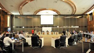 Centro de convenções onde vai acontecer a cúpula do Brics em Durban, África do Sul.