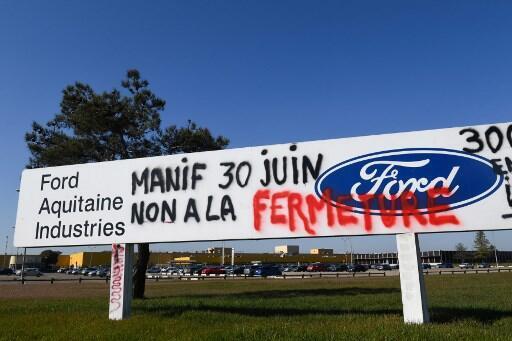 Ford confirma fechamento de unidade de produção em Blanquefort na França.