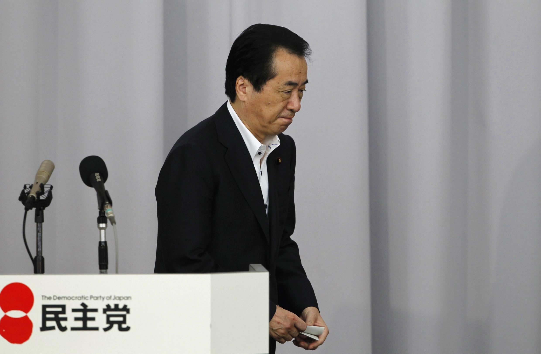 Prime ministan Japan Naoto Kan bayan kammala jawabin Murabus dinsa