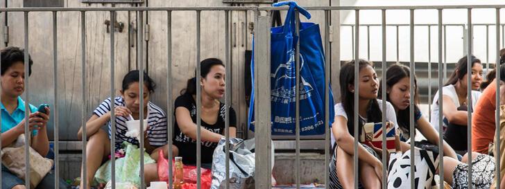 Phụ nữ Indonesia tại Hồng Kông bị bóc lột như nô lệ