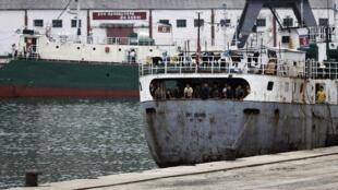 Cảng Rason - đông bắc Bắc Triều Tiên, nơi ông Pae Jun Ho nhập cảnh và bị bắt.